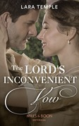 The Lord's Inconvenient Vow (Mills & Boon Historical) (The Sinful Sinclairs, Book 3)
