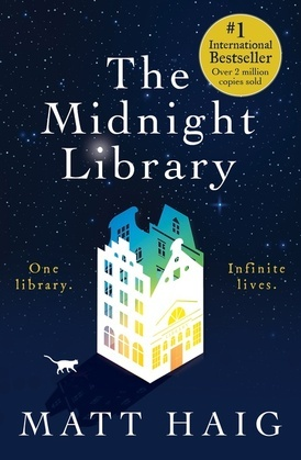 Cover image (The Midnight Library)