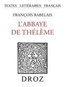 L'Abbaye de Thélème
