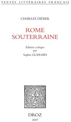 Rome souterraine