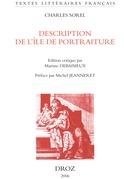 Description de l'île de portraiture et de la ville des portraits : 1659 / Préface de Michel Jeanneret