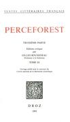 Le Roman de Perceforest. Troisième partie, tome III
