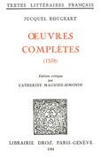Œuvres complètes (1578)