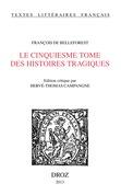 Le Cinquiesme Tome des Histoires Tragiques