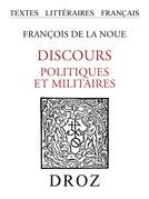 Discours politiques et militaires