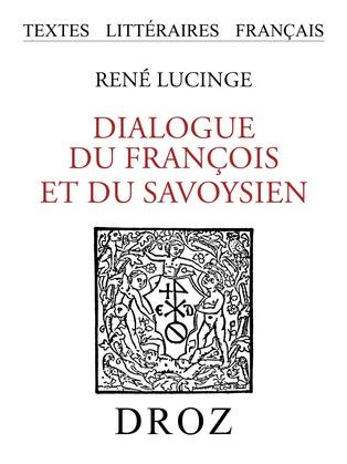 Dialogue du François et du Savoysien