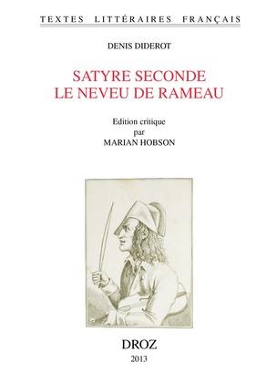 Satyre seconde. Le Neveu de Rameau