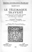 Le Télémaque travesti