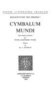 Cymbalum Mundi