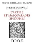 Cartels et Masquarades ; Epitaphes