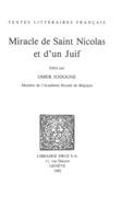 Miracle de Saint Nicolas et d'un Juif