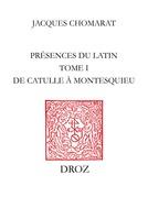 Présences du latin