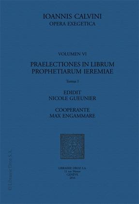 Praelectiones in librum prophetiarum Ieremiae