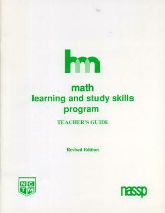 Math: Teacher's Guide: Hm Learning & Study Skills Program