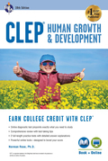 CLEP Human Growth & Development, 10th Ed., Book + Online