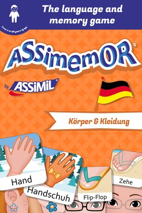 Assimemor – My First German Words: Körper und Kleidung