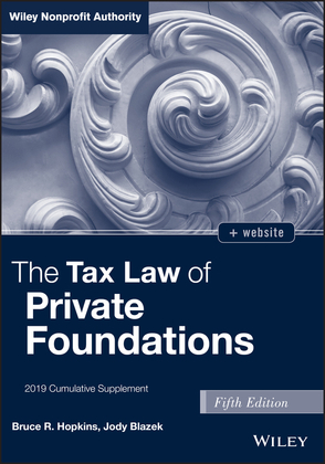 The Tax Law of Private Foundations, + website