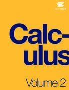 Calculus Volume 2