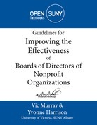 Guidelines for Improving the Effectiveness of Boards of Directors of Nonprofit Organizations