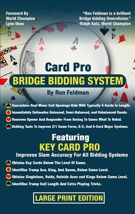 Card Pro Bridge Bidding System