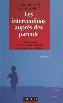 Les interventions auprès des parents