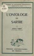 L'ontologie de Sartre