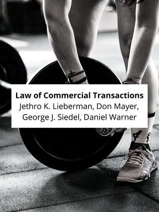 Law of Commercial Transactions