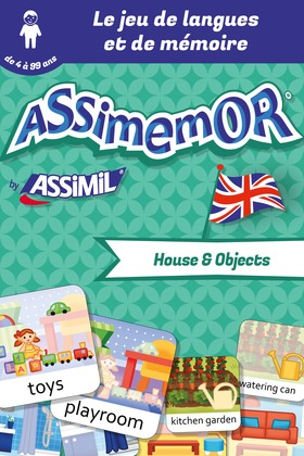 Assimemor – Mes premiers mots anglais : House and Objects