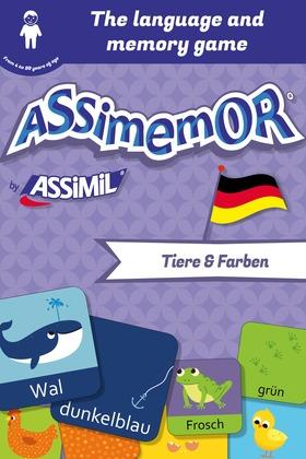 Assimemor – My First German Words: Tiere und Farben
