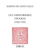 Les Amphorismes Ypocras (1362-1365)