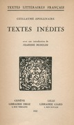 Textes inédits