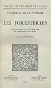 Les Foresteries