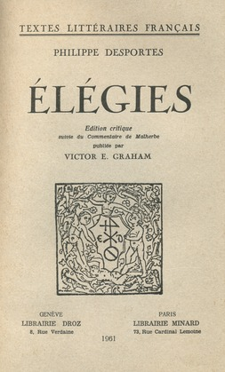 Elégies