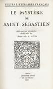 Le Mystère de Saint Sébastien