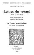 Lettres du voyant : 13 et 15 mai 1871
