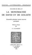 La Monomachie de David et de Goliath