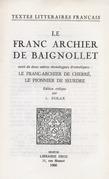 Le Franc Archier de Baignollet