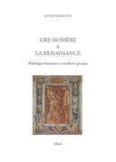 Lire Homère à la Renaissance