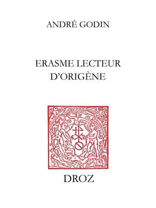 Erasme lecteur d'Origène