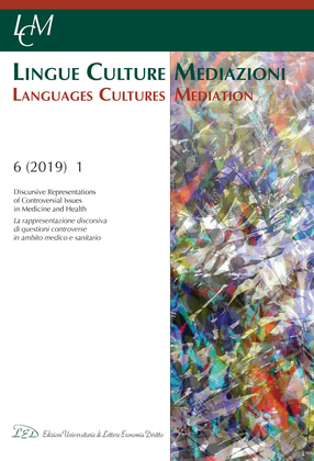 LCM Journal. Vol 6, No 1 (2019). Discursive Representations of Controversial Issues in Medicine and Health