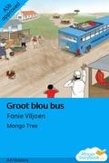 Groot blou bus