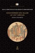 Gouverner en Islam (xe-xvesiècle)