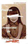 Pastillas y cheesecake de limón