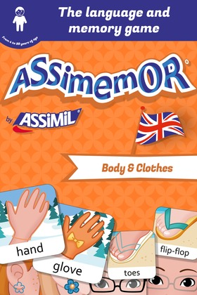 Assimemor – My First English Words: Body and Clothes