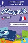Assimemor – Mes premiers mots français : Animaux et Couleurs
