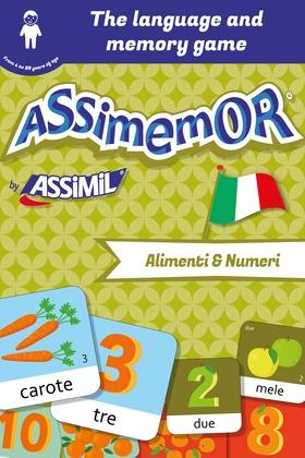 Assimemor – My First Italian Words: Alimenti e Numeri