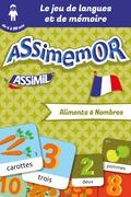 Assimemor – Mes premiers mots français : Aliments et Nombres