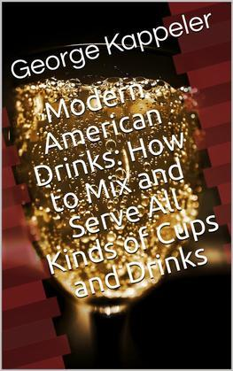 Modern American Drinks / How to Mix and Serve All Kinds of Cups and Drinks