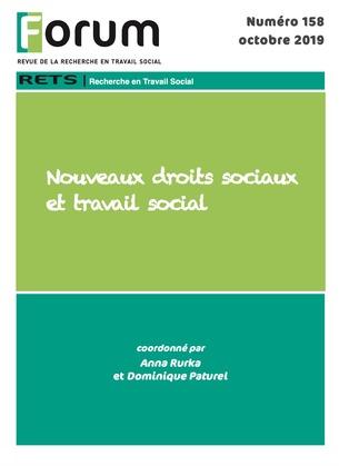 Forum 158 : Nouveaux droits sociaux et travail social