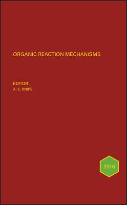Organic Reaction Mechanisms 2016